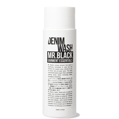 Mr.Black Denim Wash