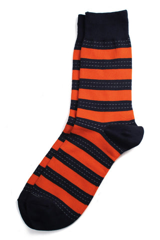Richer Poorer - Outlaw Orange Socks
