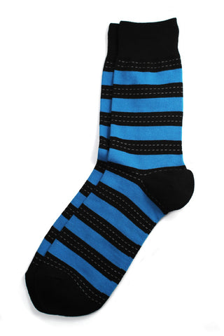 Richer Poorer - Outlaw Blue Socks