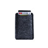 Old Calgary Organic Wool Oxford Card Sleeve Wallet - Graphite