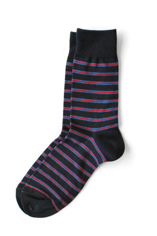 Richer Poorer - Po Boy Dark Grey Socks