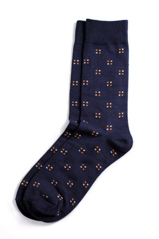 Richer Poorer - Pundit Navy Socks