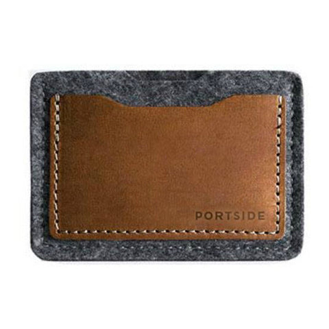 Portside Alpha Card Wallet - Anthracite