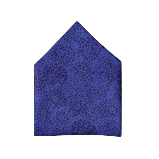 Blade + Blue - Alan Purple Floral Pocket Square