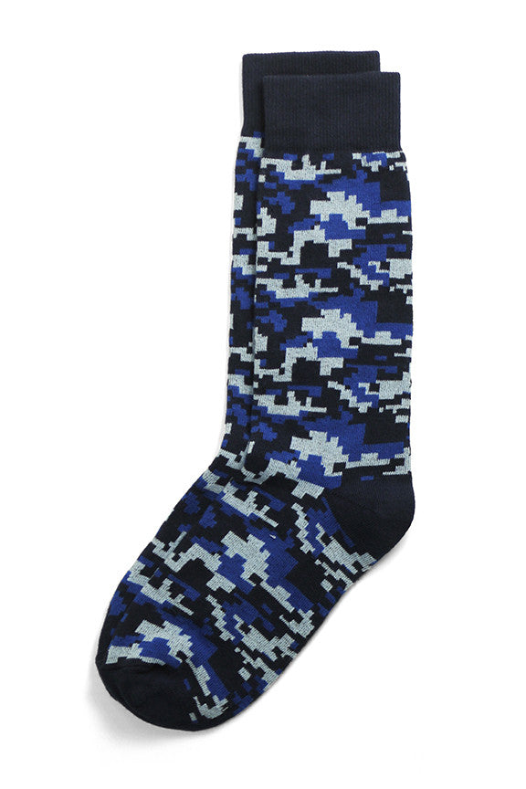 Recruit Blue Socks