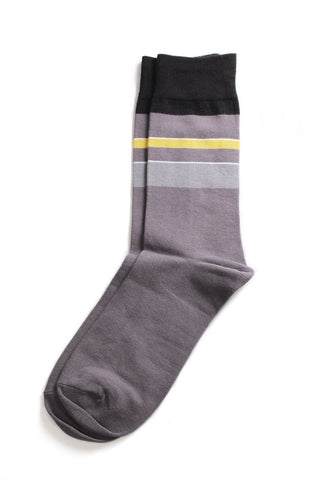 Richer Poorer - Simpleton Grey Socks