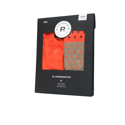 Richer Poorer - The Overnighter Gift Set, Orange