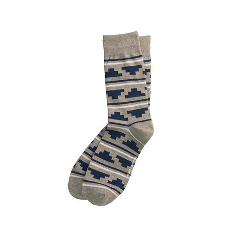 Richer Poorer Trekker Socks - Grey