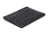 Alligator Card Case - Black