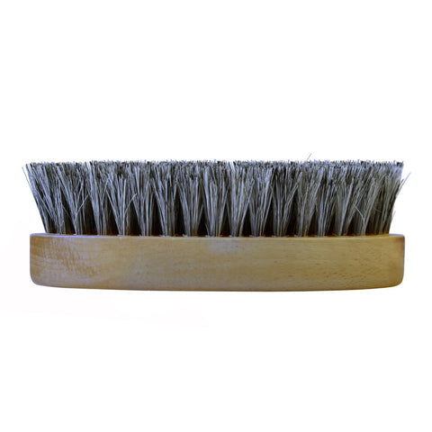 Saphir 13.5cm Oval Horsehair Palm Brush - Grey