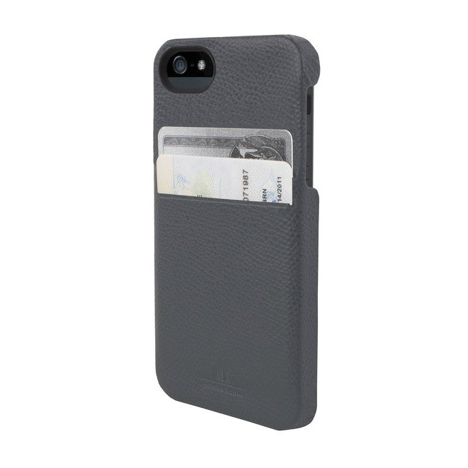Solo Wallet Case for iPhone 5 - Torino Grey