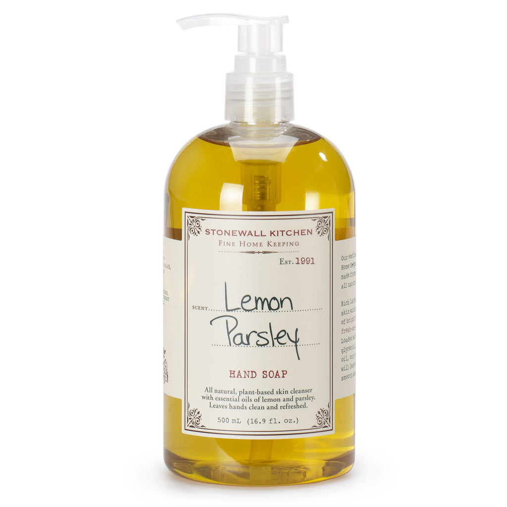 Stonewall Kitchen Hand Soap Lemon Parsley