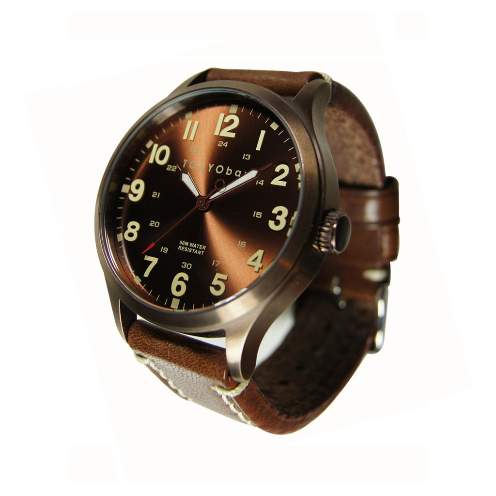 TOKYObay Mason Watch - Brown