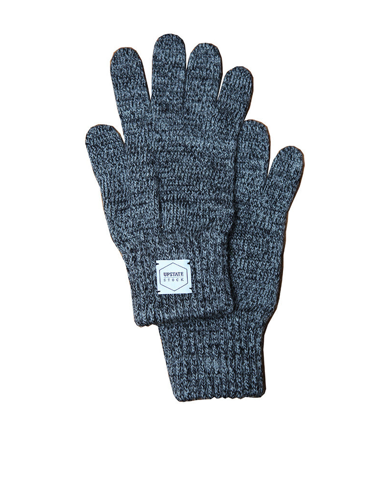 Upstate Stock Ragg Wool Glove - Charcoal Melange