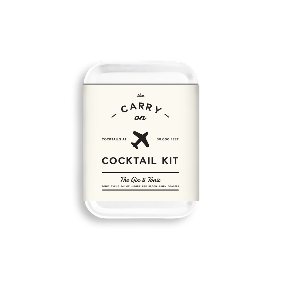 W&P Design Carry-On Cocktail Kit - Gin & Tonic