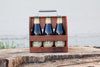Wood Thumb - Wooden Six Pack Bottle Holder 2