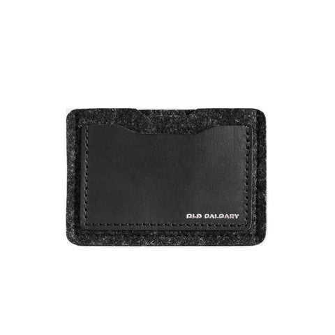 Old Calgary Alpha Card Wallet - Carbon