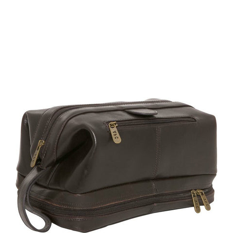 Deluxe Leather Travel Bag