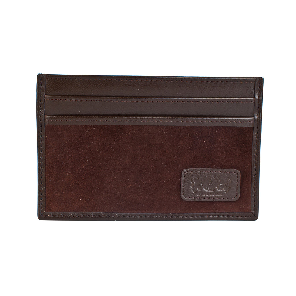 Avallone Slim Card Carrier - Brown