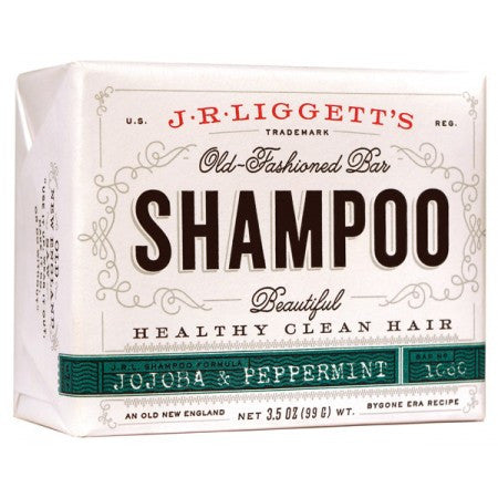 J.R. Liggett's Shampoo Bar - Jojoba & Peppermint