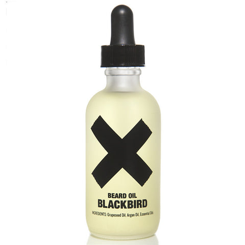 Blackbird Beard Oil - Ink, Paper, & Mild Tobacco Scent
