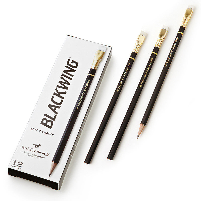 Palomino Blackwing Black Pencils - 12 Pack