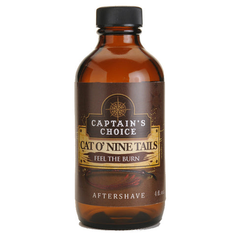 Captain's Choice Aftershave - Cat O' Nine Tails