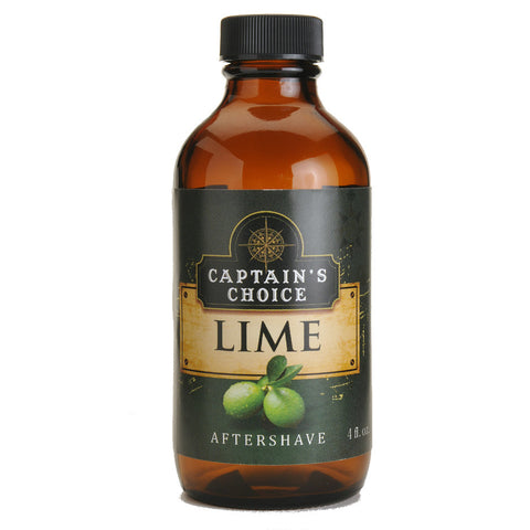 Captain's Choice Aftershave - Lime