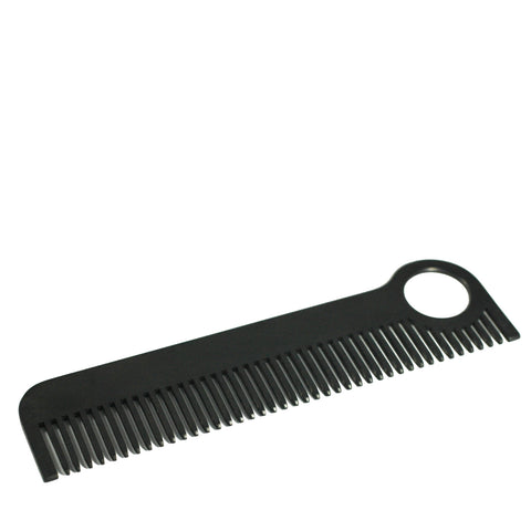 Chicago Comb Co. - Stainless Steel Comb - Black Matte