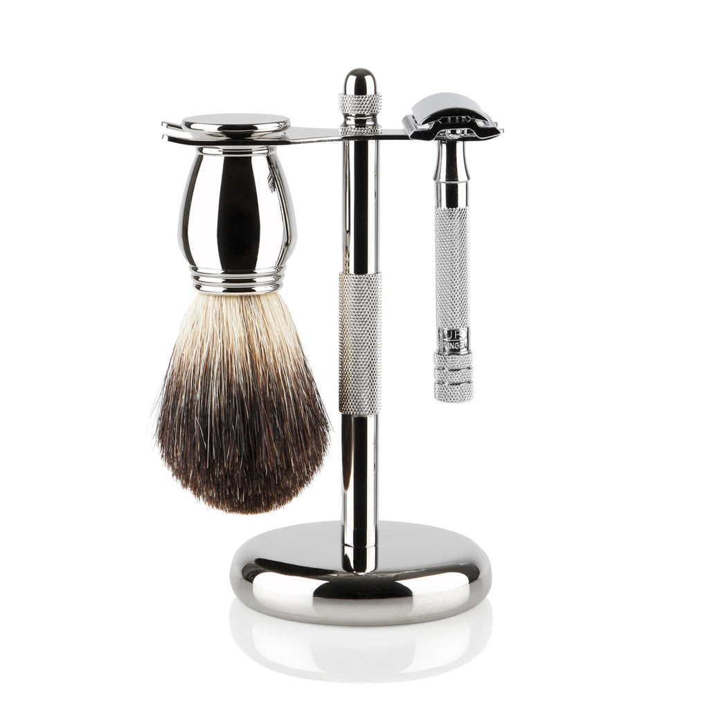 Merkur Chrome Shaving Gift Set