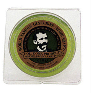 Colonel Conk's World Famous Shaving Soap - Lime