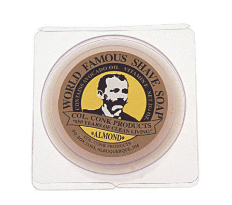 Colonel Conk's World Famous Shaving Soap - Almond