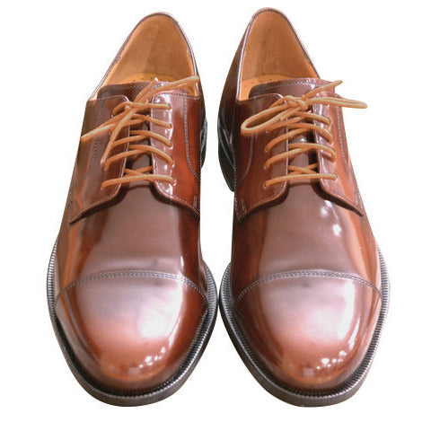 Colored Dress Shoelaces 2-pairs - Copper Brown