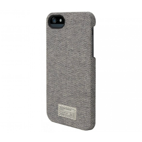 Hex Core Canvas Case for iPhone 5 - Grey Denim
