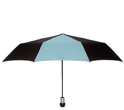 Davek Solo Umbrella - Black & Pale Blue