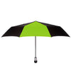 Davek Solo Umbrella - Black & Wasabi Green