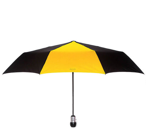 Davek Solo Umbrella - Black & Sport Yellow