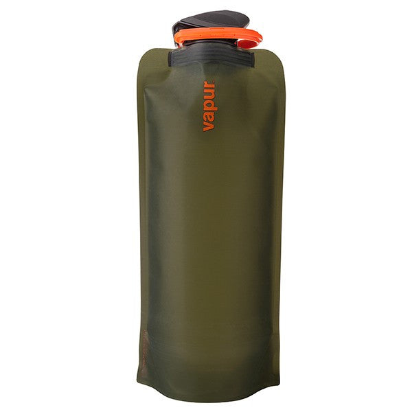 Vapur Eclipse Foldable Water Bottle - 1L Olive