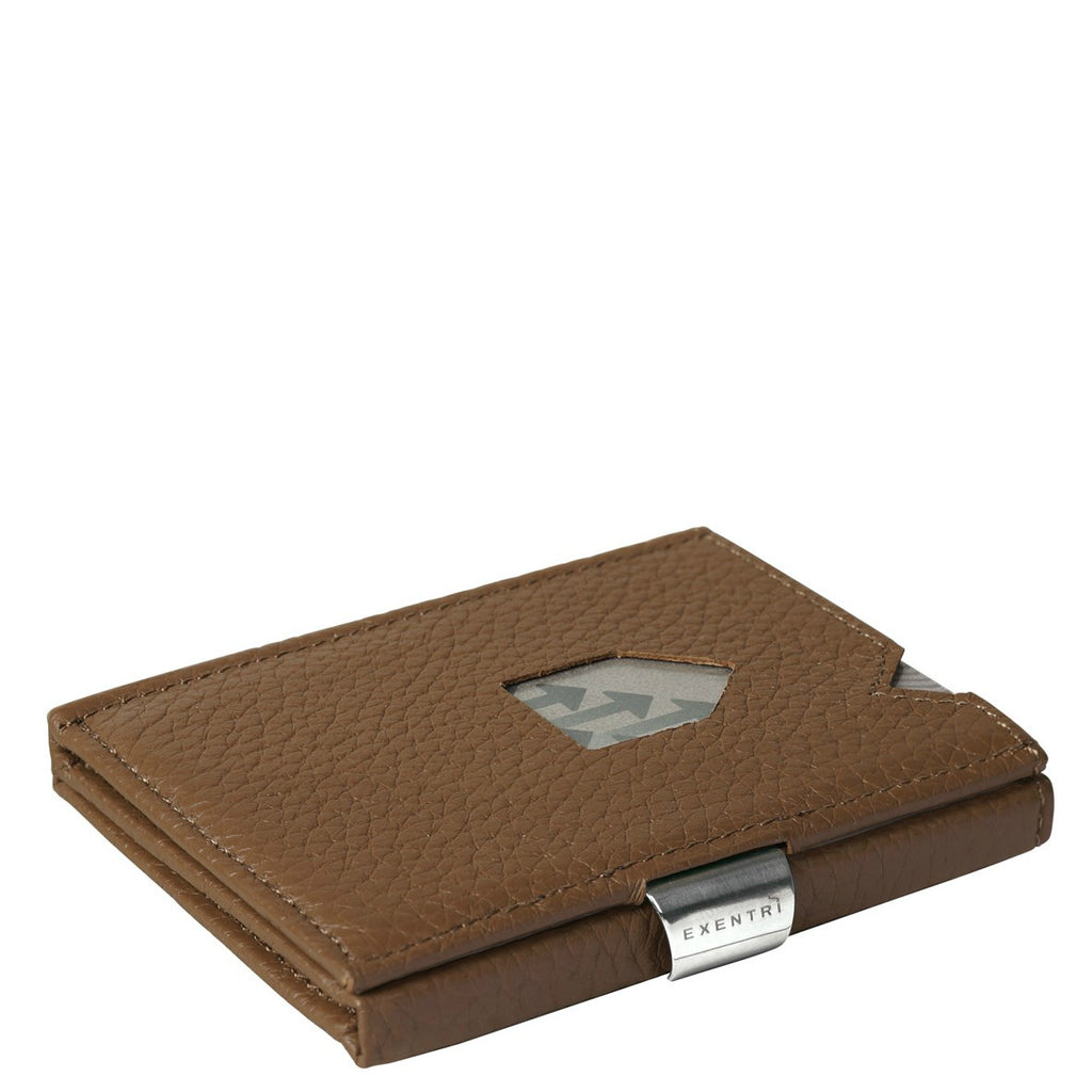 Exentri Trifold Wallet - Brown Structure