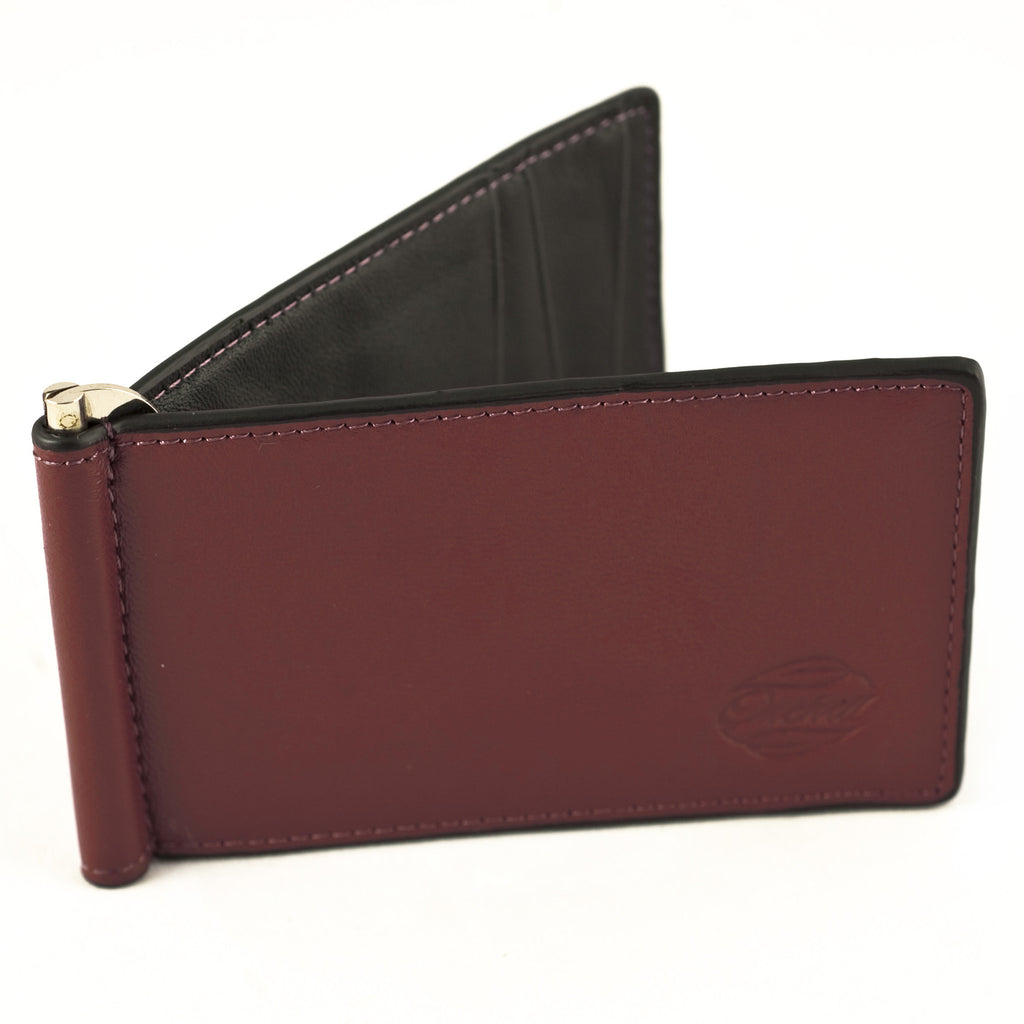 Orchill Portside Window Wallet - Red