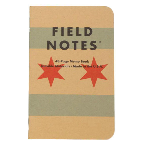 Field Notes Chicago Notebooks - 3 pack