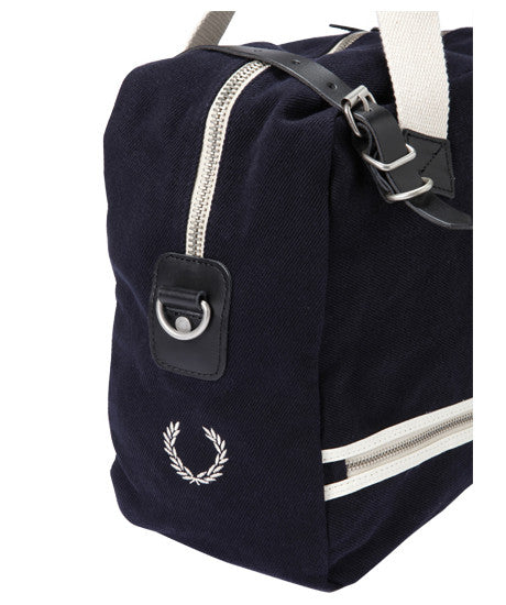 Fred Perry Vintage Twill Tool Bag Navy Maxton Men