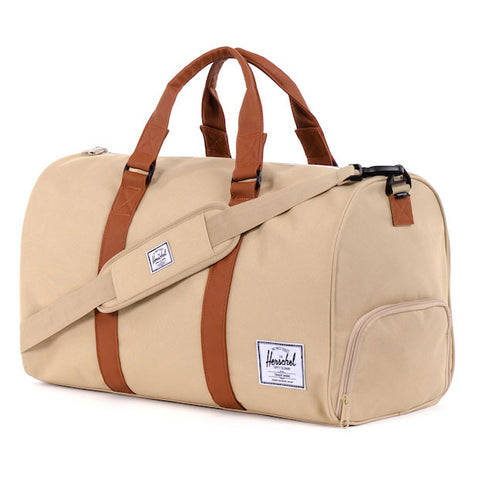 6cbcabbfcd9 Herschel Supply Novel Duffel Bag - Khaki   Tan