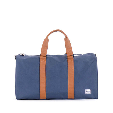 Herschel Supply Ravine Duffel Bag - Navy & Tan