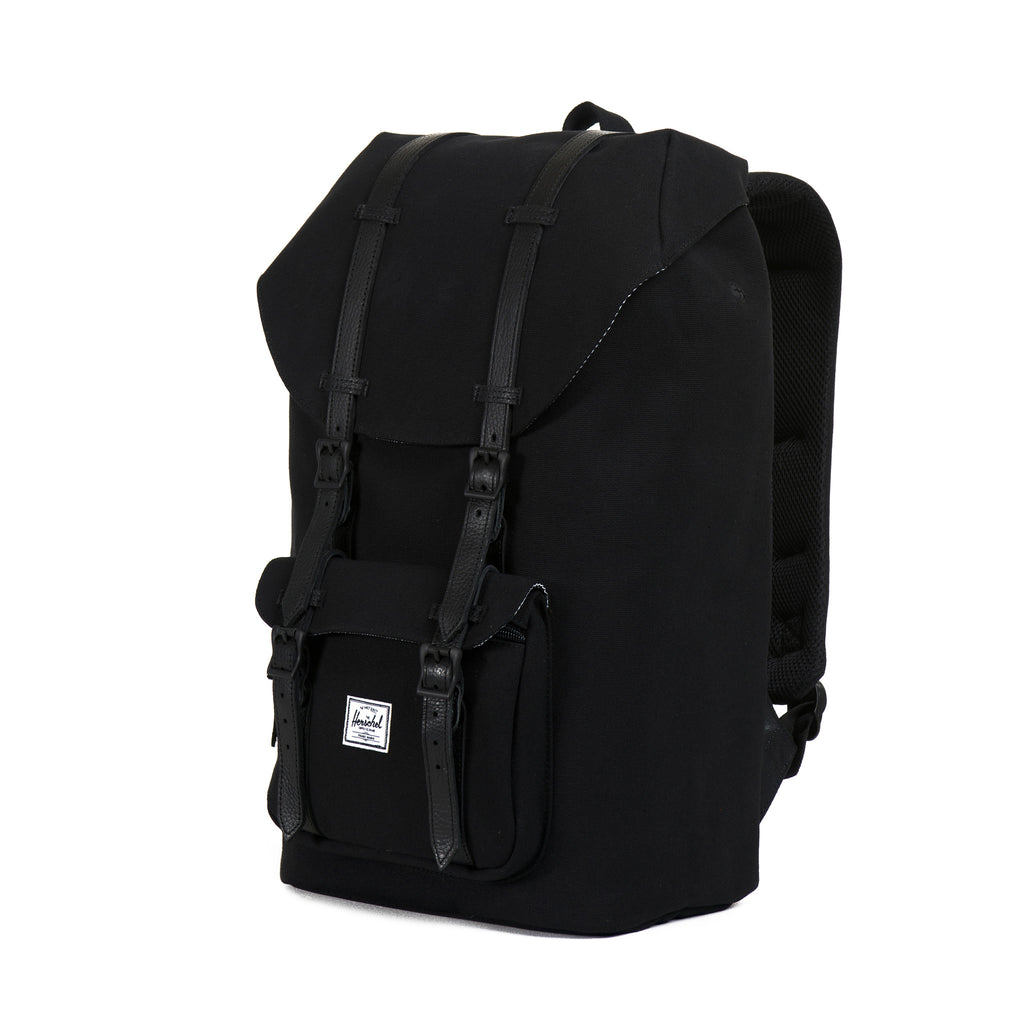 Herschel Little America Canvas Backpack - Black