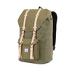 Herschel Little America Canvas Backpack - Washed Army Green