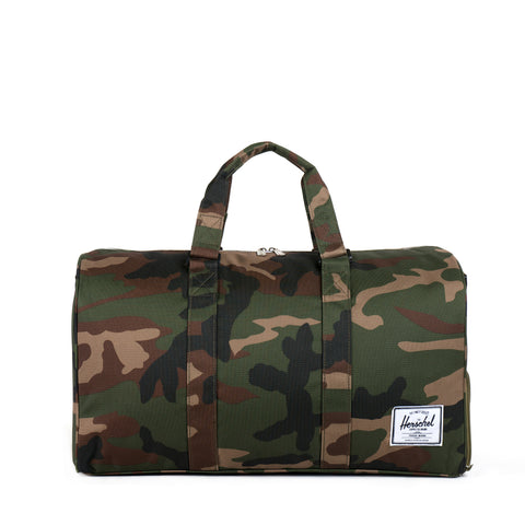 Herschel Supply Novel Duffel Bag - Woodland Camo Zipper
