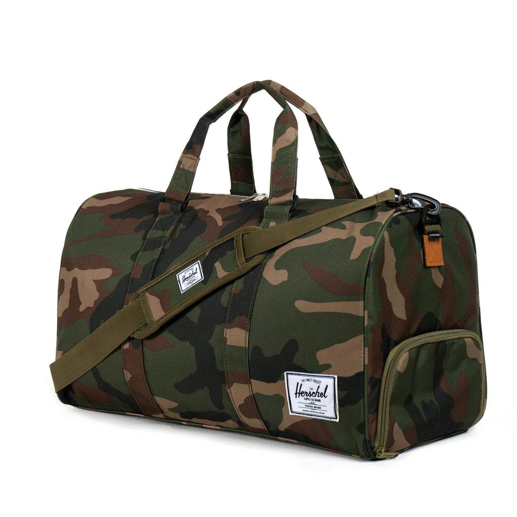 Herschel Supply Novel Duffel Bag - Woodland Camo