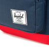 Herschel Supply Pop Quiz Backpack - Navy & Red