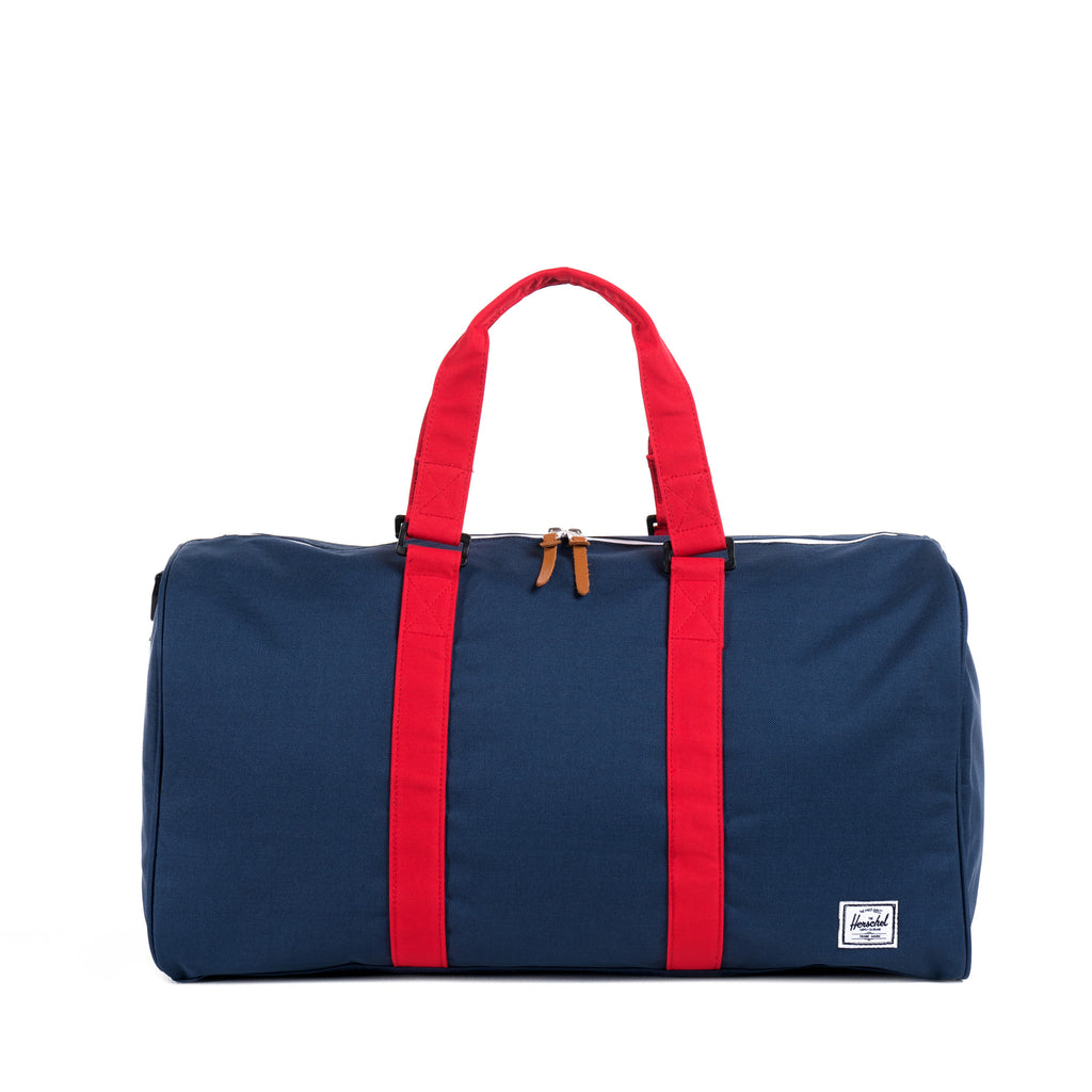 Herschel Supply Ravine Duffel Bag - Navy & Red